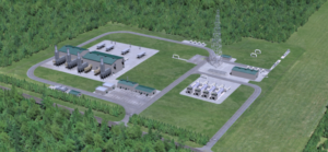 Permit sought for pipeline station