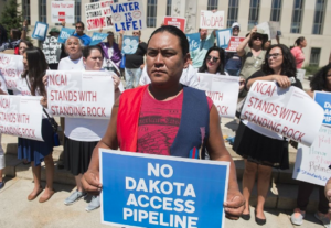 Judge Delays Injunction Ruling as Native American Pipeline Protest Grows