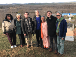 Bishop Goff visits Union Hill and Yogaville/Tribute to Rev Robert Dilday