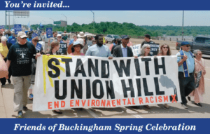 Stand with Union Hill protest