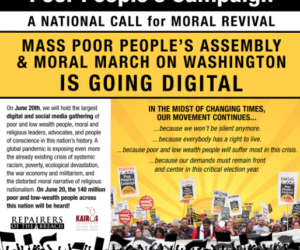 A National Call for Moral Revival with the Mass Poor People's Assembly & Moral March on Washington